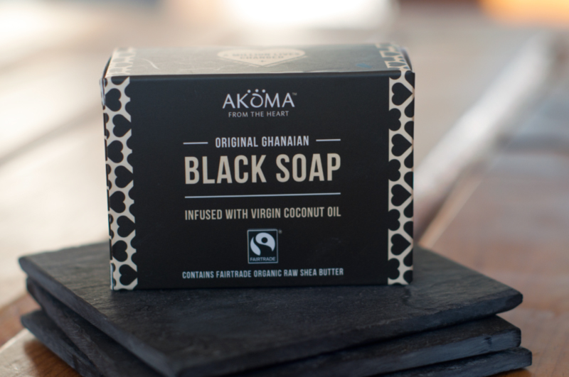 african black soap ansikte